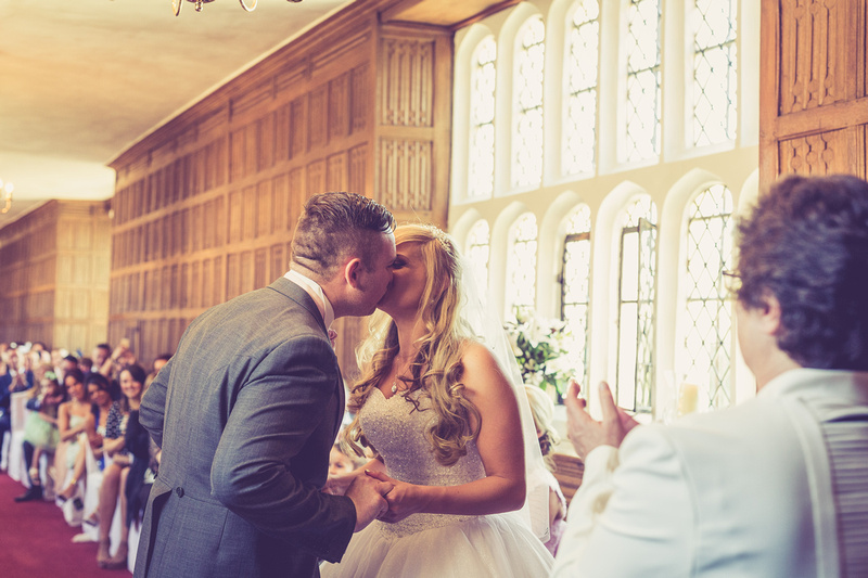 Kelly and Gary at Gosfield Hall