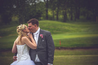 Gemma and Mike at Brichwood Park Golf Centre
