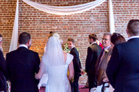 Katie and David at Cooling Castle Barn