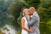 Laura and Lee at Hexton Manor