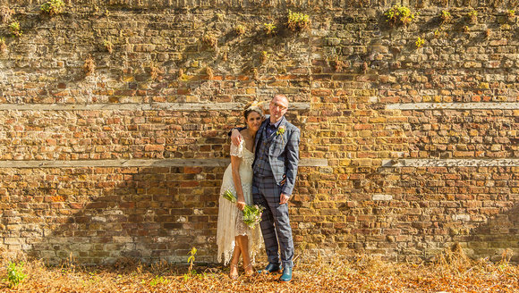 Danielle and Stuart at Stoke Newington Town Hall
