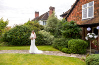 katherine and adam at Parley Manor