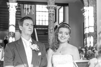 Phillip and Steph at Chicheley hall
